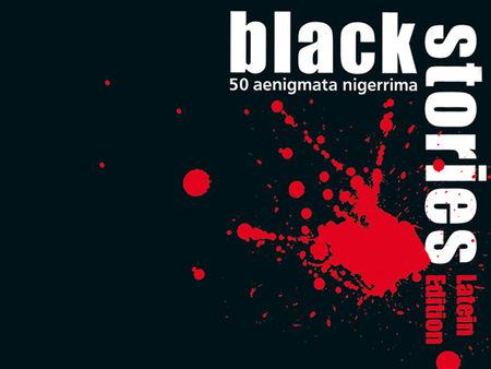 Black Stories: Latein Edition