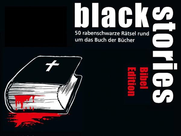 Bild zu Alle Brettspiele-Spiel Black Stories: Bibel Edition
