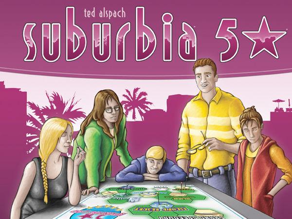 Bild zu Alle Brettspiele-Spiel Suburbia: 5 Sterne