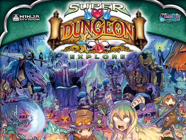 Bild zu Alle Brettspiele-Spiel Super Dungeon Explore: Der vergessene König
