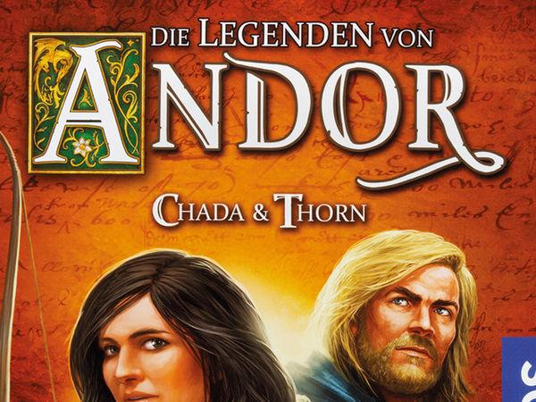 Bild zu Alle Brettspiele-Spiel Die Legenden von Andor: Chada & Thorn
