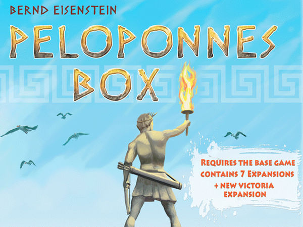 Bild zu Frühjahrs-Neuheiten-Spiel Peloponnes Box