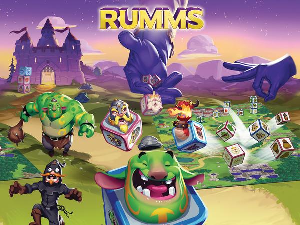 Bild zu Alle Brettspiele-Spiel Rumms