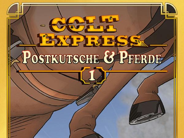 Bild zu Alle Brettspiele-Spiel Colt Express: Postkutsche & Pferde