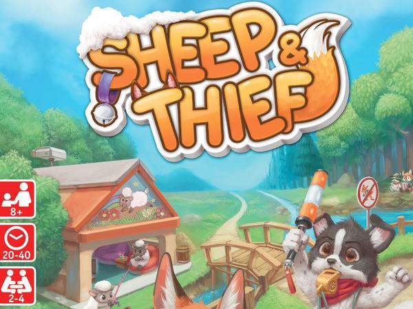 Bild zu Alle Brettspiele-Spiel Sheep & Thief