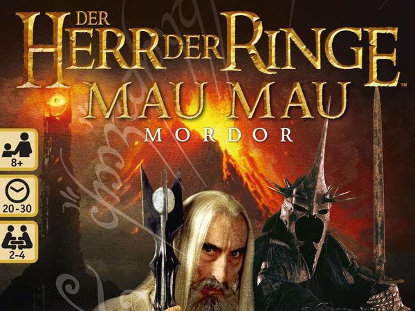 Bild zu Alle Brettspiele-Spiel Herr der Ringe: Mau Mau - Mordor