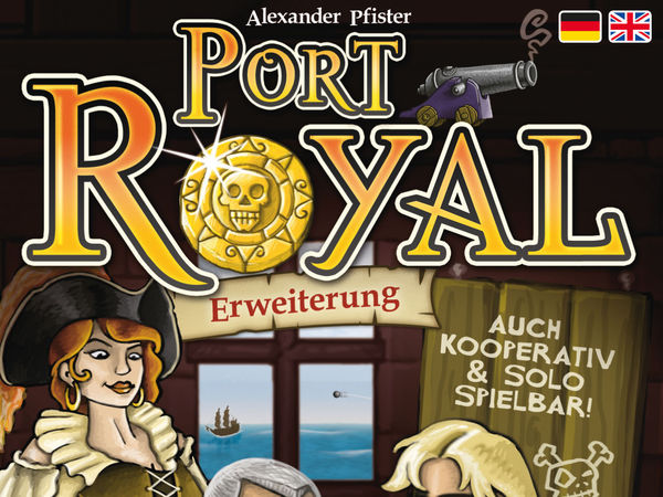 Bild zu Alle Brettspiele-Spiel Port Royal: Ein Auftrag geht noch