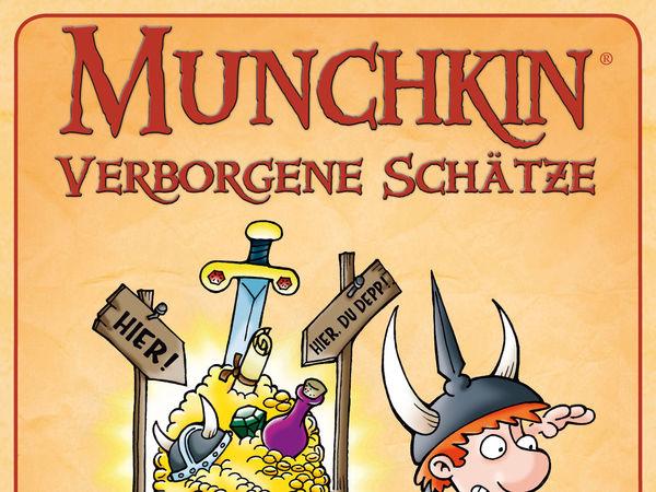 Bild zu Alle Brettspiele-Spiel Munchkin: Verborgene Schätze