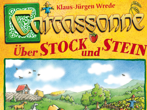 Bild zu Alle Brettspiele-Spiel Carcassonne: Über Stock und Stein