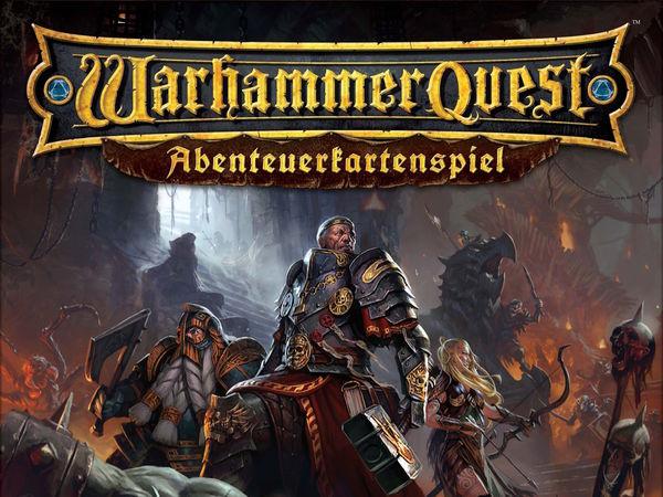 Bild zu Alle Brettspiele-Spiel Warhammer Quest: Abenteuerkartenspiel