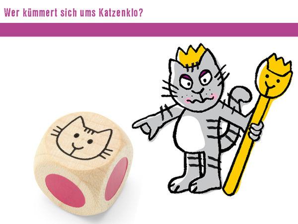 Bild zu Alle Brettspiele-Spiel Wer kümmert sich ums Katzenklo?