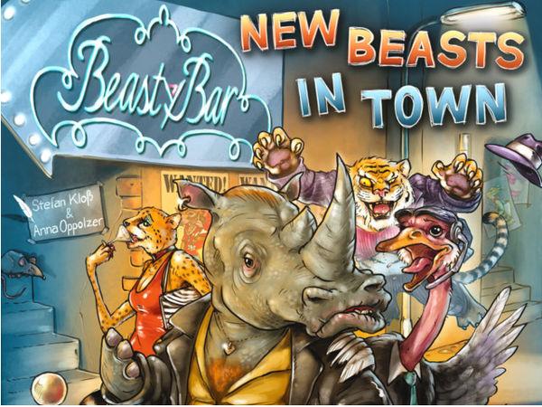Bild zu Alle Brettspiele-Spiel Beasty Bar: New Beasts in Town
