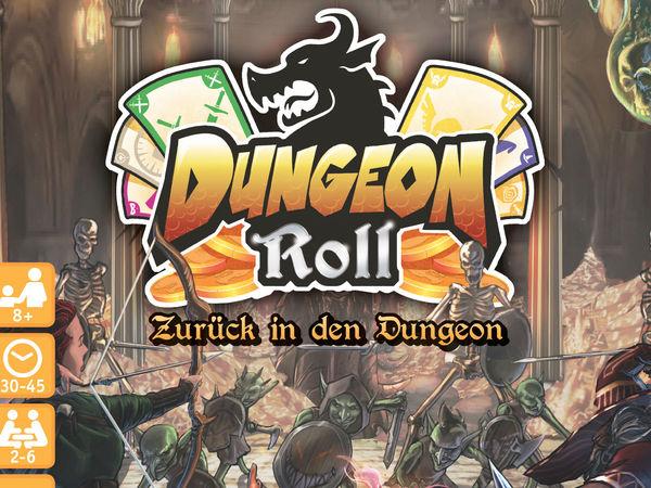 Bild zu Alle Brettspiele-Spiel Dungeon Roll: Zurück in den Dungeon