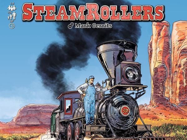 Bild zu Alle Brettspiele-Spiel SteamRollers