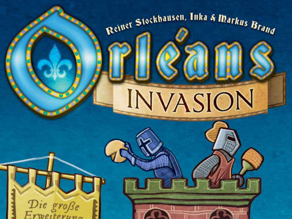 Bild zu Alle Brettspiele-Spiel Orléans: Invasion