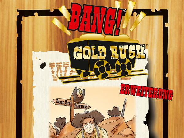 Bild zu Alle Brettspiele-Spiel Bang! Gold Rush