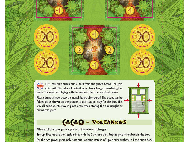 Cacao: Vulkane Bild 1