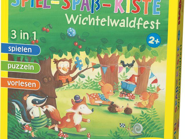 Spiel-Spaß-Kiste: Wichtelwaldfest Bild 1