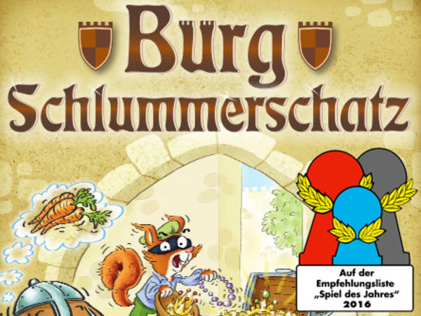 Bild zu Alle Brettspiele-Spiel Burg Schlummerschatz