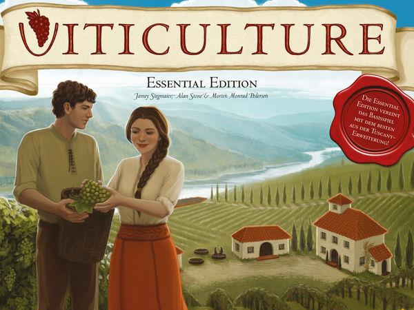 Bild zu Alle Brettspiele-Spiel Viticulture: Essential Edition