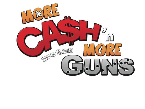 Bild zu Alle Brettspiele-Spiel Cash & Guns: More Cash 'n More Guns