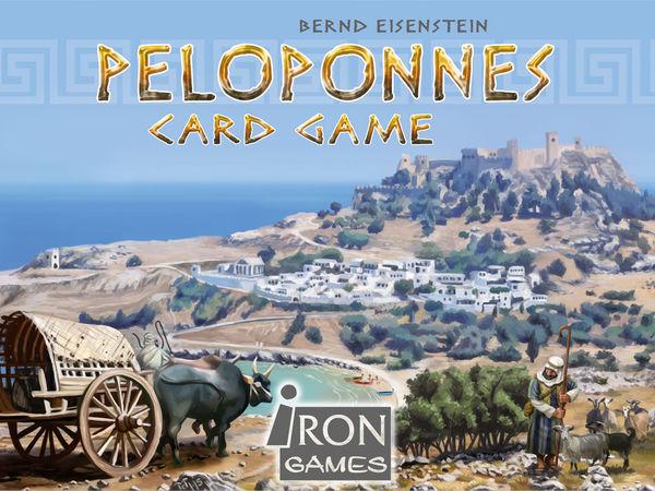 Bild zu Frühjahrs-Neuheiten-Spiel Peloponnes Kartenspiel