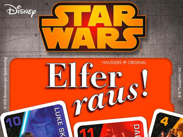 Bild zu Alle Brettspiele-Spiel Star Wars: Elfer raus!