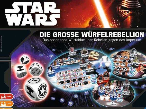 Bild zu Alle Brettspiele-Spiel Star Wars: Die große Würfelrebellion