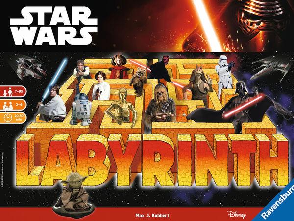 Bild zu Alle Brettspiele-Spiel Star Wars Labyrinth