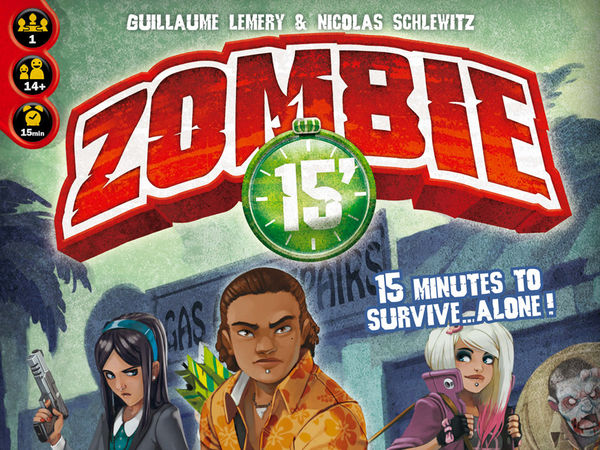 Bild zu Alle Brettspiele-Spiel Zombie 15': Left Alone - Solo Campaign