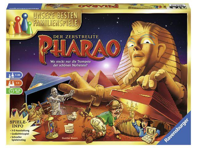 Der zerstreute Pharao Bild 1