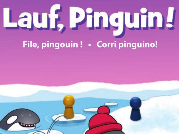 Bild zu Alle Brettspiele-Spiel Ene Mene Muh: Lauf, Pinguin!