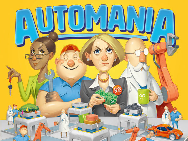 Bild zu Alle Brettspiele-Spiel Automania