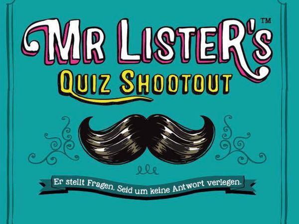 Bild zu Alle Brettspiele-Spiel Mr. Lister's Quiz Shootout