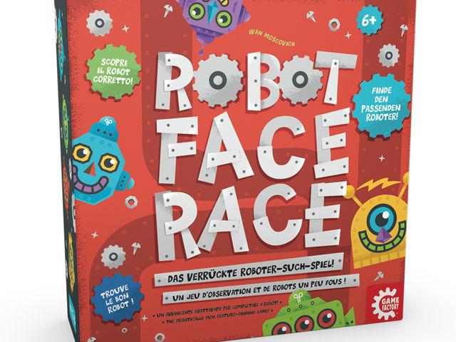 Robot Face Race Bild 1