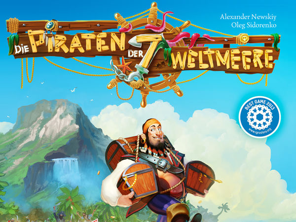 Bild zu Alle Brettspiele-Spiel Die Piraten der 7 Weltmeere