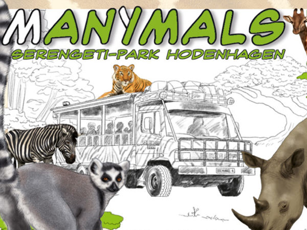 Bild zu Alle Brettspiele-Spiel Manimals: Serengeti-Park Hodenhagen