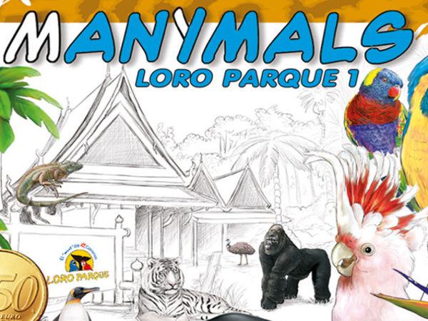 Bild zu Frühjahrs-Neuheiten-Spiel Manimals: Loro Parque Teneriffa