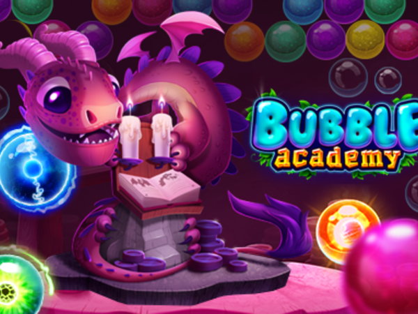 Bild zu HTML5-Spiel Bubble Academy