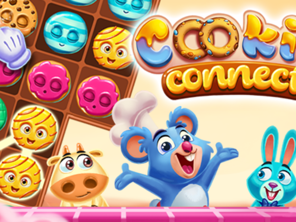 Bild zu Strategie-Spiel Cookie Connect