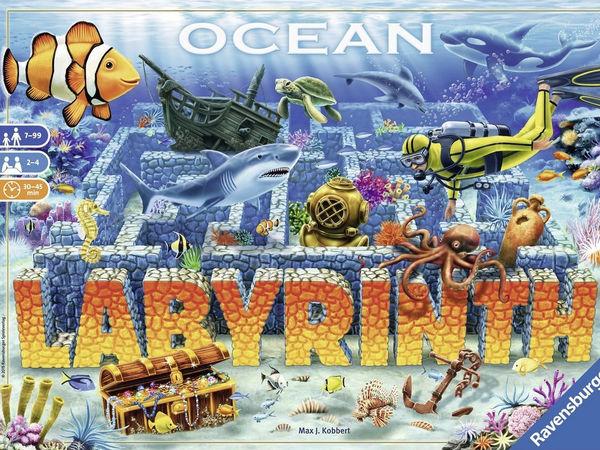 Bild zu Alle Brettspiele-Spiel Ocean Labyrinth