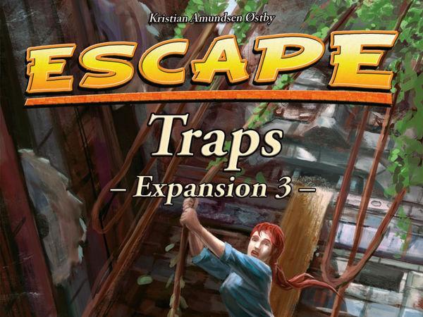 Bild zu Alle Brettspiele-Spiel Escape: Erweiterung 3 - Traps