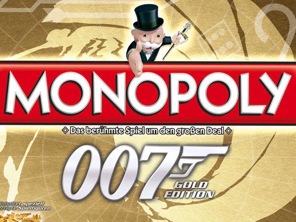 Bild zu Alle Brettspiele-Spiel Monopoly: James Bond 007 - Gold-Edition