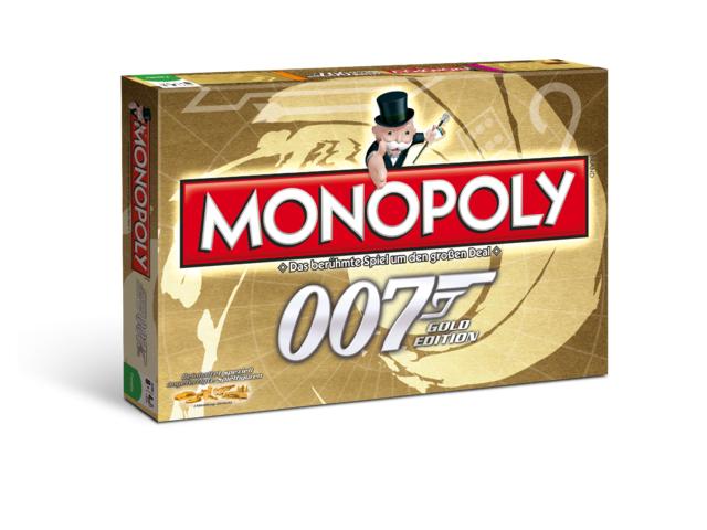 Monopoly: James Bond 007 - Gold-Edition Bild 1