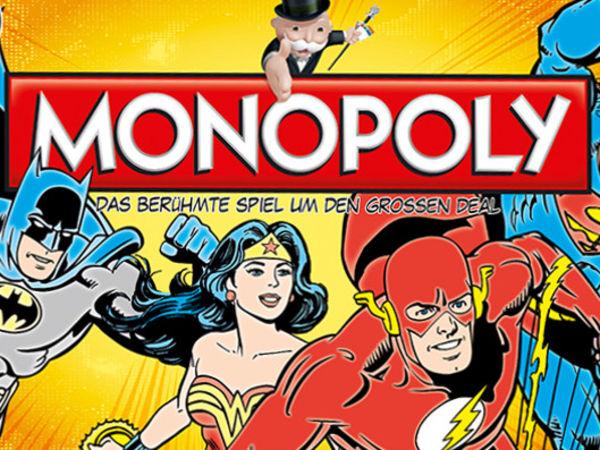 Bild zu Alle Brettspiele-Spiel Monopoly: DC (Comic) Original