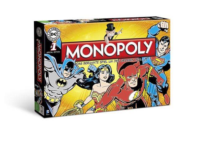 Monopoly: DC (Comic) Original Bild 1