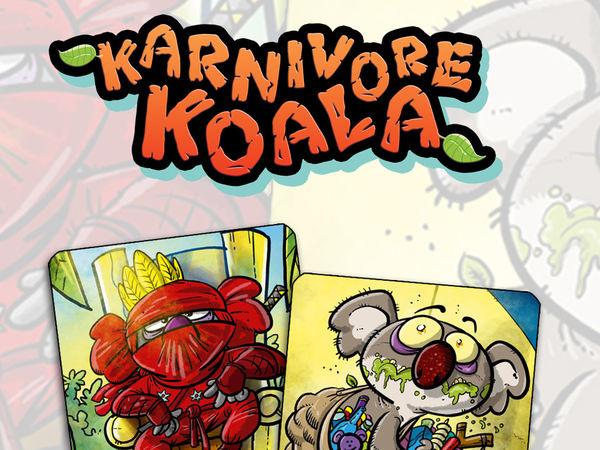 Bild zu Alle Brettspiele-Spiel Karnivore Koala