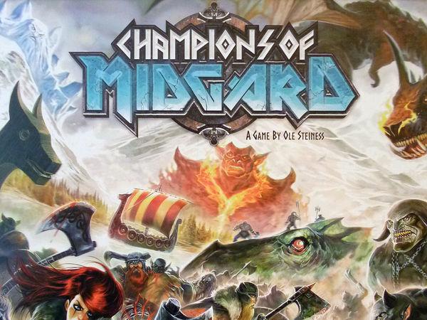 Bild zu Alle Brettspiele-Spiel Champions of Midgard