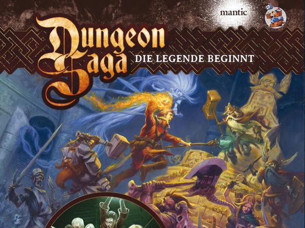 Bild zu Alle Brettspiele-Spiel Dungeon Saga Deluxe