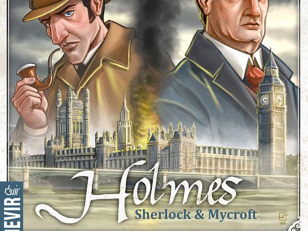 Bild zu Alle Brettspiele-Spiel Holmes: Sherlock & Mycroft